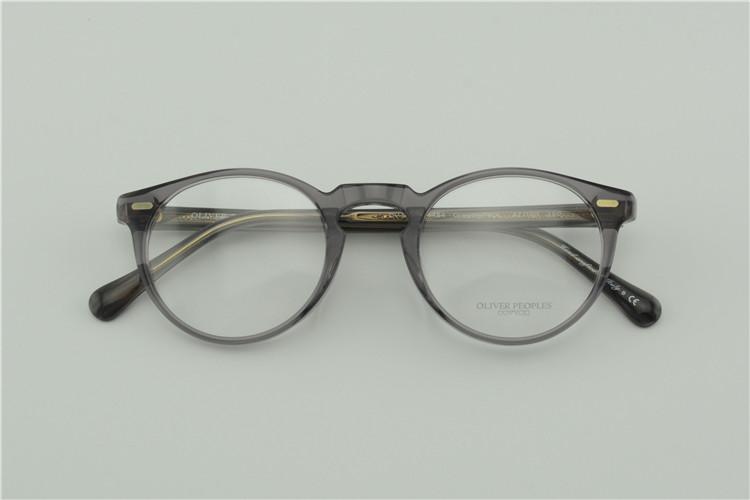 старинные оптические очки кадр нет burdenoliver peoples ov5186 грегори пек для женщин и мужчин очки рамки бесплатная доставка