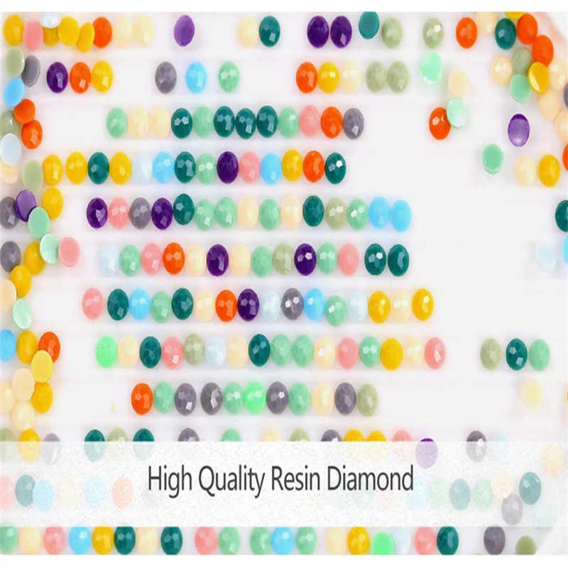 Губка Боб вышивка с кристаллами стены стикеры 5d алмаз, вышивка квадратными Кристалл Мозаика Фотографии s подарок для детей