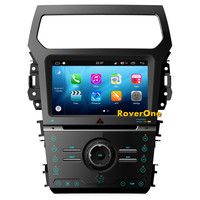 Octa Core Android 8.0 For Ford Explorer 2012+ Touch Screen Car DVD GPS Navigation Central Multimedia Android For Ford Explorer