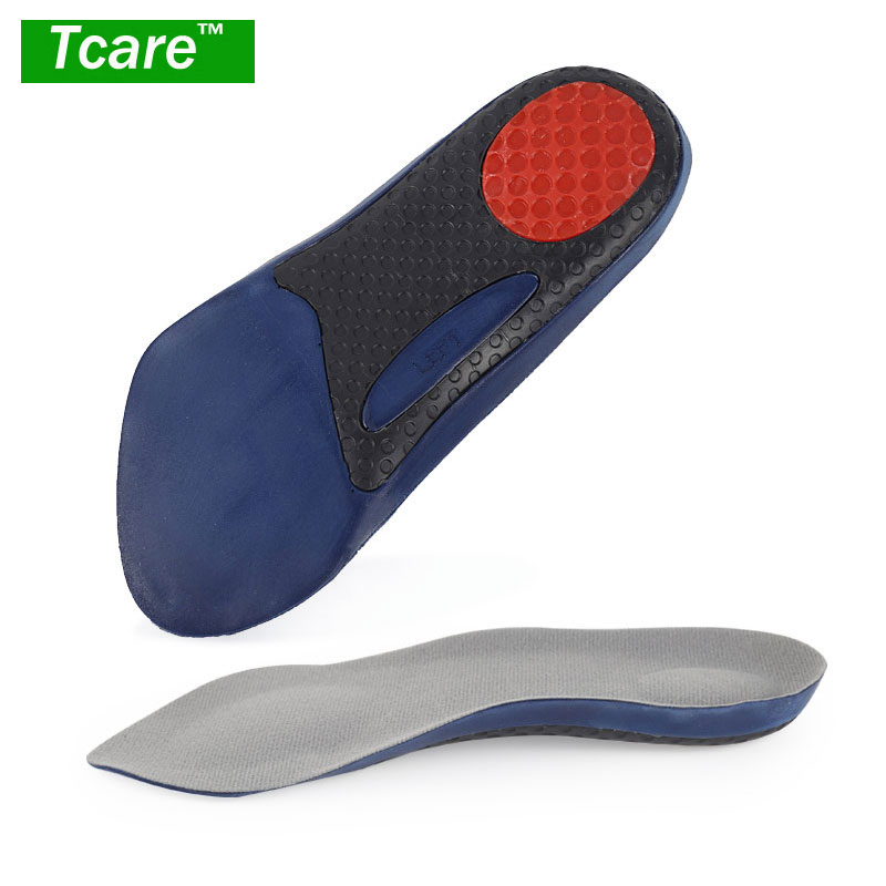 1Pair Orthotic Cushioning Shoes Inserts/Insoles with High Arch Support for Flat Feet Feet Pain Plantar Fasciitis for Men Women