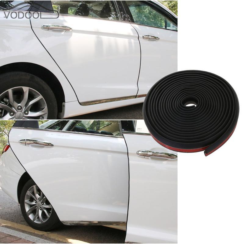 4M P Type Car Door Auto Noise Rubber Edge Seal Weather Strip Weatherstrip Useful