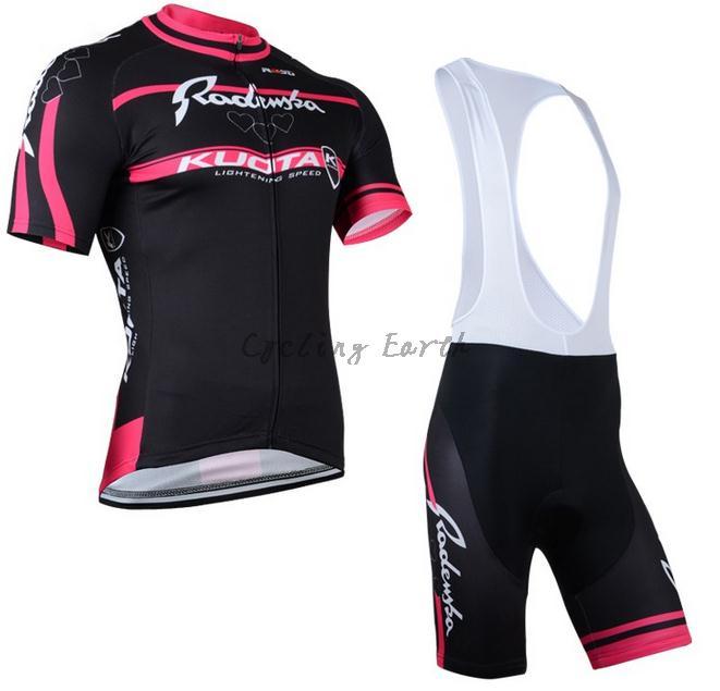 High Quality,Kuota 2015 women short sleeve cycling jersey bib shorts shirt set clothes jersey Shirt,gel pad,3D Silicone!