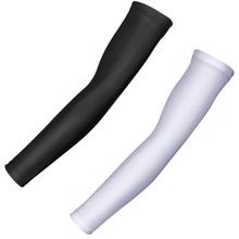1 Pair Breathable Quick Dry UV Protection Running Arm Sleeves Basketball Elbow Pad