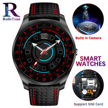 Men Smart Watches With Camera Heart Rate Monitor Bluetooth Smartwatch Support SIM Card Digital Women Sport Watch for IOS Android(China)