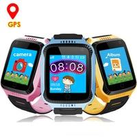 Smart Watch Children GPS Safe Tracker Q528 Watches Child Alarm Clock Kid Wristwatch Baby Camera SOS Call Smartwatch for Boy Girl