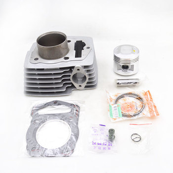 Motorcycle Cylinder Kit Set Big Bore 62mm 13/15mm Pin For Honda WY125 CB125 125cc Upgrade to 150cc Dirt Bike Go Cart ATV  Buggy