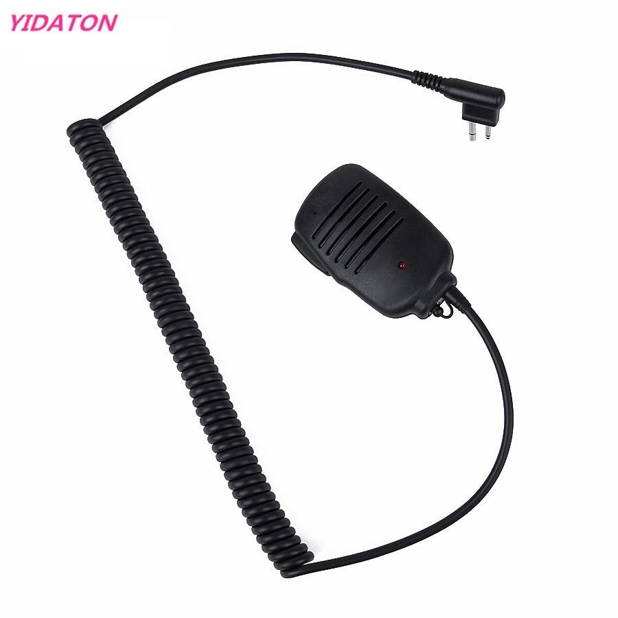 YIDATON Portable Radio LED Handheld Speaker MIC For Motorola Radio For Radios GP88/88S/GP68/3688 Walkie Talkie Radio