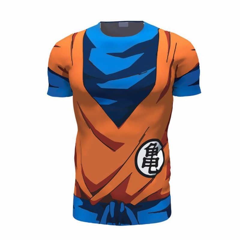 80593d58 ONSEME Dragon Ball Z Super Saiyan Armor T Shirts Cool Men/Women Fitness  Tees Goku