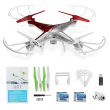 JJRC H97 RC Drone Dron 4CH 2.4G 6 Axis Gyro Quadcopter One Key to Return Flying Helicopter Headless Mode Sport Drones Gifts Toys