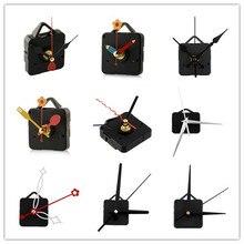 1 комплект бесшумные большие настенные часы кварцевый механизм черный и красный набор для ремонта рук набор инструментов с крюком Saat Прямая поставка