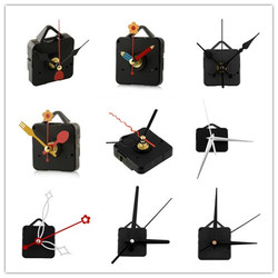 1 Set Silent large wall Clock Quartz Movement Mechanism Black and Red Hands Repair Kit Tool Set With Hook Saat Drop Shipping
