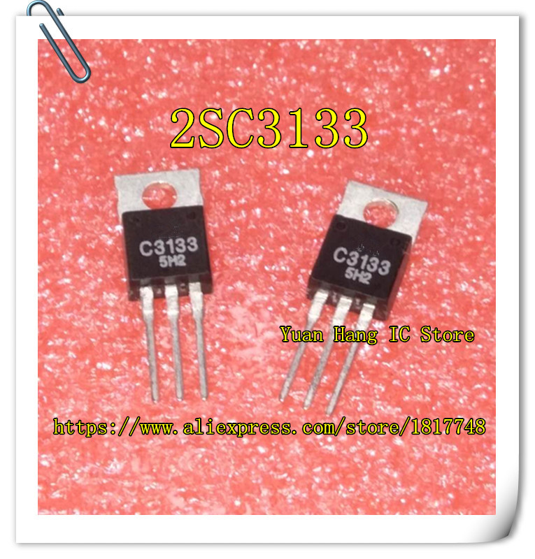 5pcs/lot   Free Shipping 2SC3133 C3133  TO-220   New Original Package A High-frequency Transistors
