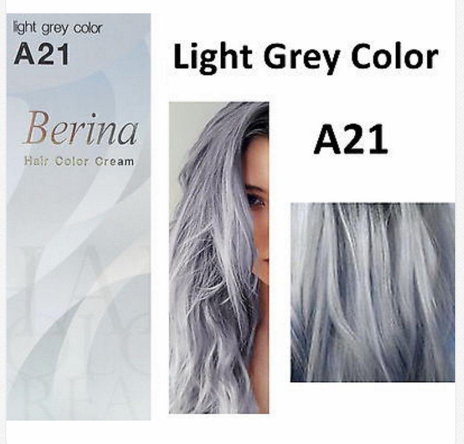 Berina Professionals Hair Color Cream Permanent Hair Dye Color A21