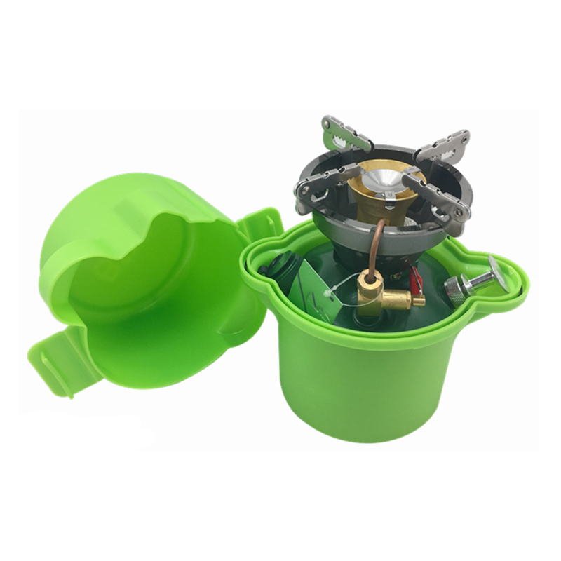 High quality outdoor camping cooking portable oil stove fuel boiler non-preheated petrol burner picnic stove BRS-29B цена