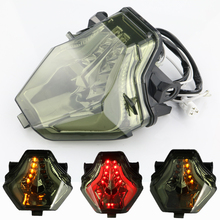 Motorcycle Signal Lamp LED Rear Turn Tail Stop Light Lamps Integrated For Yamaha MT-07 FZ-07 2013-2016