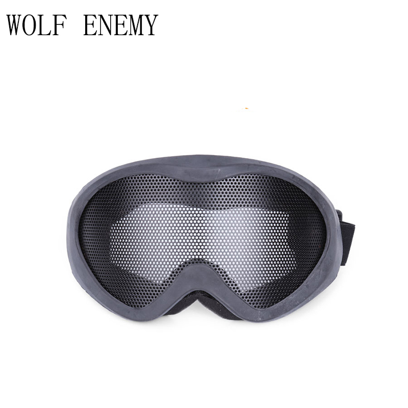 UV400 Tactical Mesh Goggles Paintball Mesh Sunglass Airsoft Outdoor All-inclusive Eyes Protective Gears Hunting Accessories