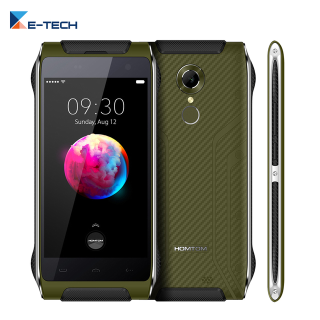 Original Homtom HT20 Pro IP68 waterproof Smartphone 3GB RAM 32GB ROM 4.7 Inch MT6753 Octa Core Fingerprint 4G LTE Mobile Phone