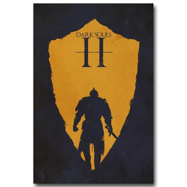 Шелковый Плакат Гобелен Dark Souls вариант 3
