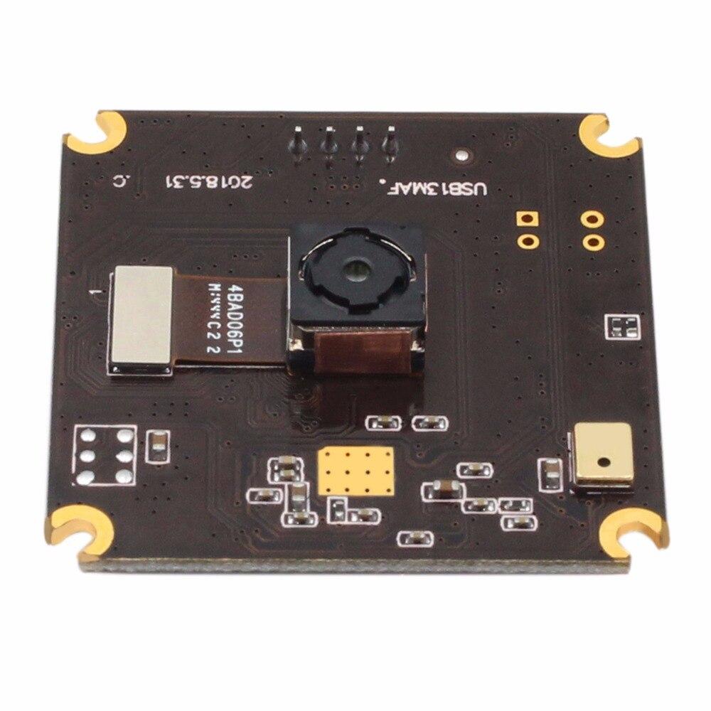13MP 3840x2880 USB Camera Module Sony IMX214 75 dregree Autofocus lens mini 38*38mm Camera Board for embedded applications цена