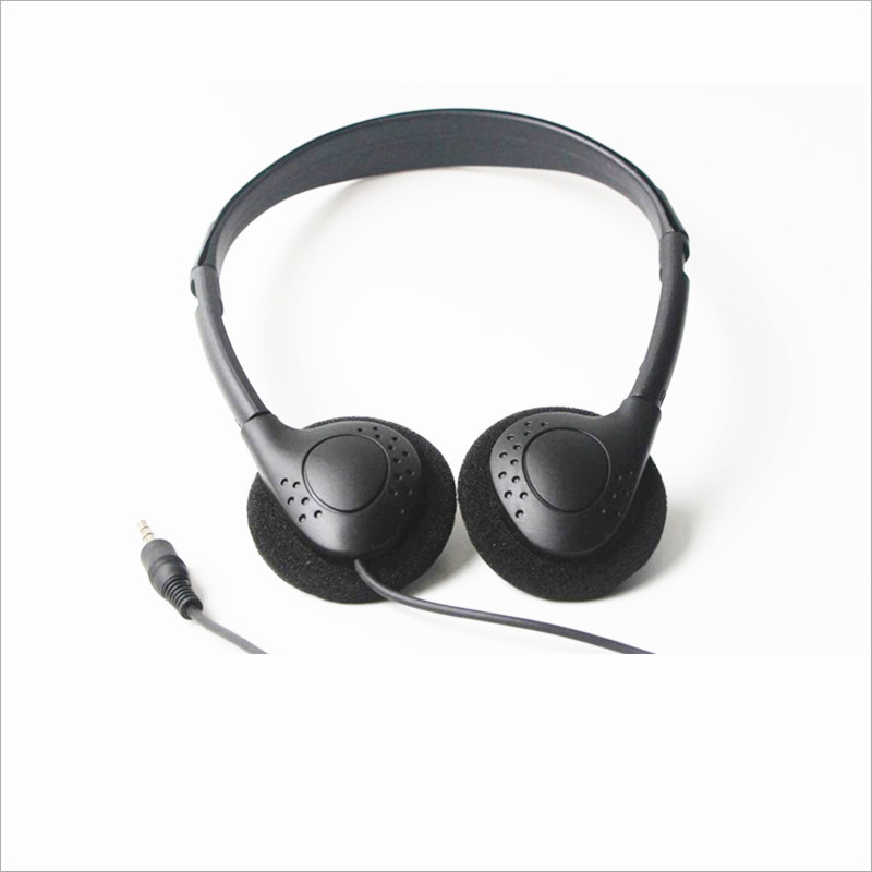 Linhuipad Economical Stereo-Kopfhörer 3,5-mm-Einweg-Headset für - Tragbares Audio und Video - Foto 4