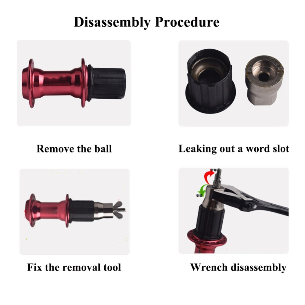 1x Remover For Shimano Bicycle Disassembly Freehub Repair Tool Useful Durable Z