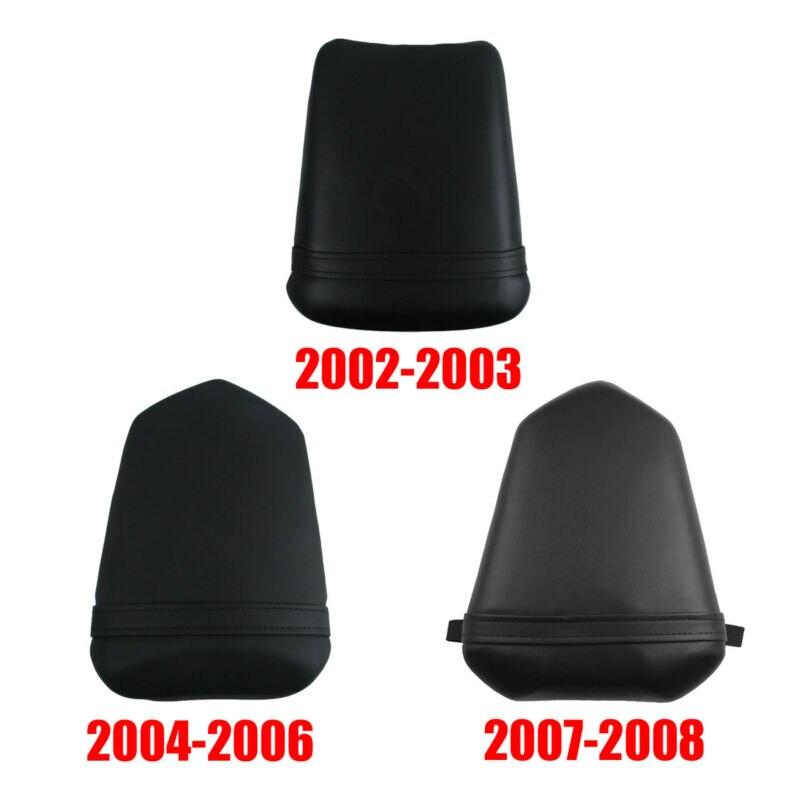 Motorcycle Rear Pillion Passenger Seat For Yamaha YZFR1 02-03 04-06 07-08 Black