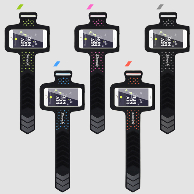 """Sireck Running Bags Touchscreen 5.0"""" 5.8"""" Armband Phone Waterproof Arms Bag Accessories Gym Sport Fitness Jogging Run Bag 45 cm 4"""