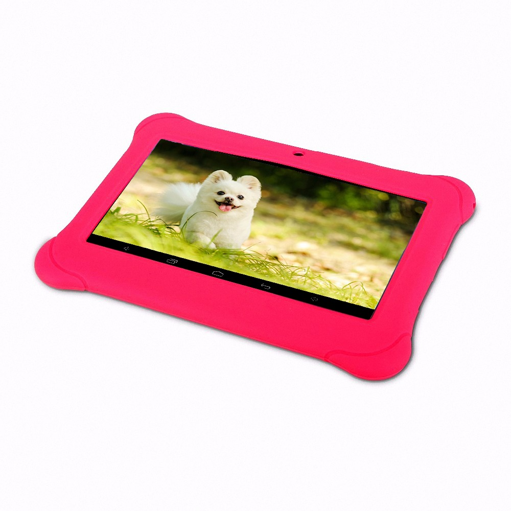New design 7 inch Tablet for Kids Children Gift Game Apps Android 4.4 512 + 8 GB ROM WiFi Quad Core Tablet pc 7 8 9 10 10.1 image