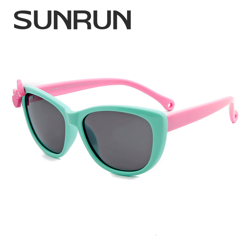 SUNRUN Fashion New Kids Polarized Sunglasses Baby Child TR90 Frame Googles Cool Eyewear  ...