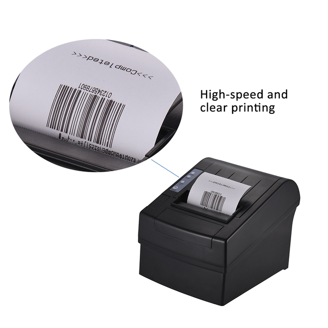 Aibecy Wireless Wifi Thermal Receipt Printer Commands Bill Ticket Printing Auto