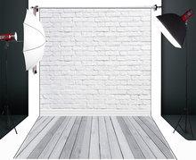 Huayi черно белая кирпичная стена фон для фотосъемки Декорации