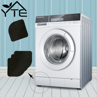 10PCS Washing Machine Anti Vibration Pad Shock Proof Non Slip Foot Feet Tailorable Mat Refrigerator Floor Furniture Protectors
