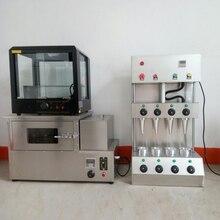 Высокомощная машина для пиццы в рожке для рекламы, завернутая печь для пиццы с витрином, машина по изготовлению конуса для пиццы