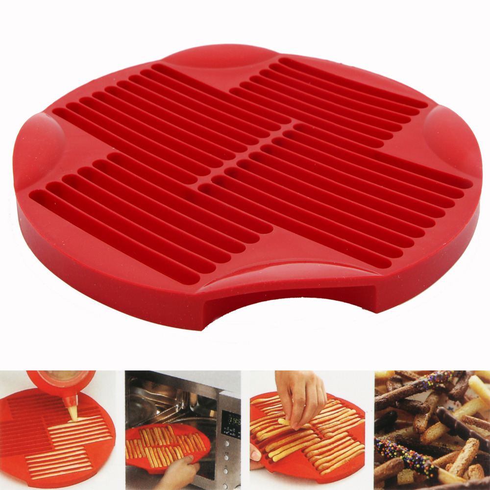 Sweet Savoury Stick Baking Mould Silicone Mold Snacks Appetiser Baking