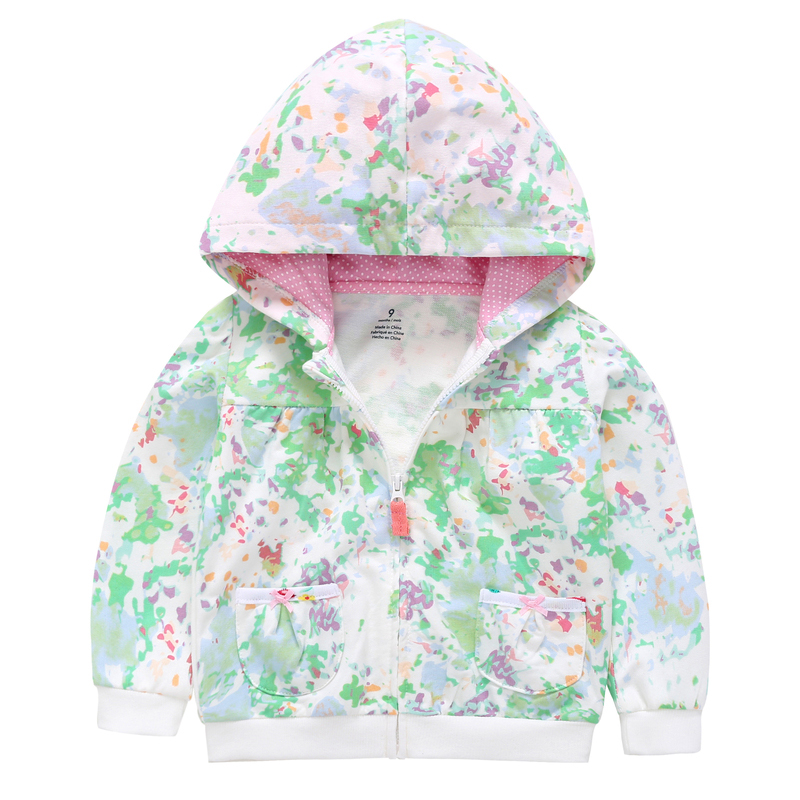 2019 spring autumn Children's Clothing camouflage Long sleeve Zipper hoodie girl kids Casual Outdoor Clothes baby girl Outerwear