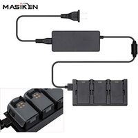 MASiKEN 3 In 1 Battery Charger For DJI Spark Drone Battery Charging Parallel Plate Hub Port