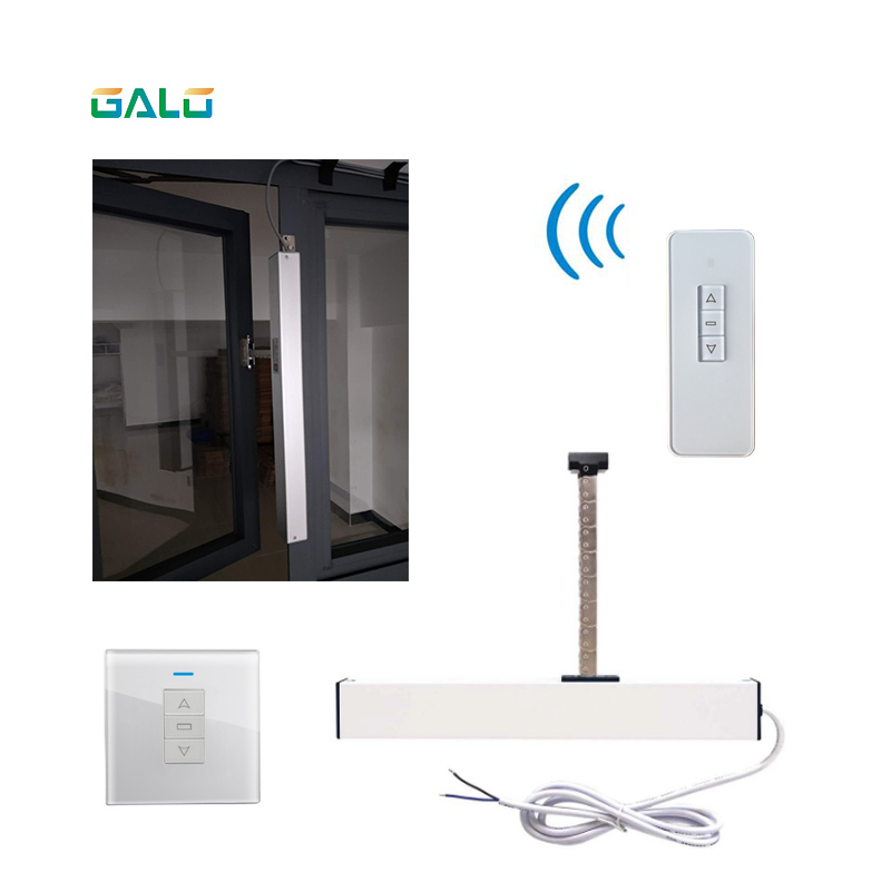 Image 4 - Smart Home electric chain window opener 300mm extend Opener (remote control+receiver are included) For Small skylight-in Electric Door Control System from Security & Protection