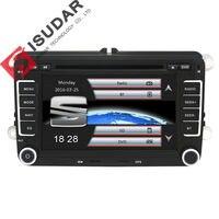Isudar Автомагнитола с Сенсорным 7 Дюймовым Экраном Для Автомобилей Skoda/Octavia/Fabia/Rapid/Yeti/Superb/VW/Seat