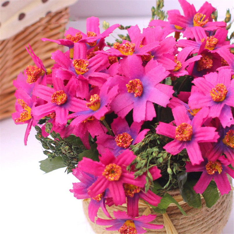 Artificial chrysanthemum potted plants simulation flowers daisy ...