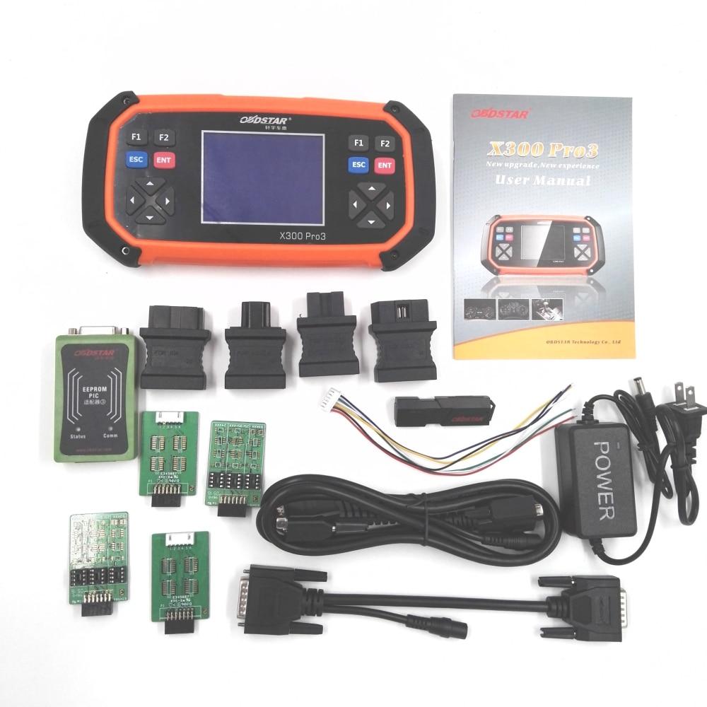 OBDSTAR X300 PRO3 Key Master with Immobiliser Odometer Adjustment EEPROM PIC OBDII Auto Key Programmer