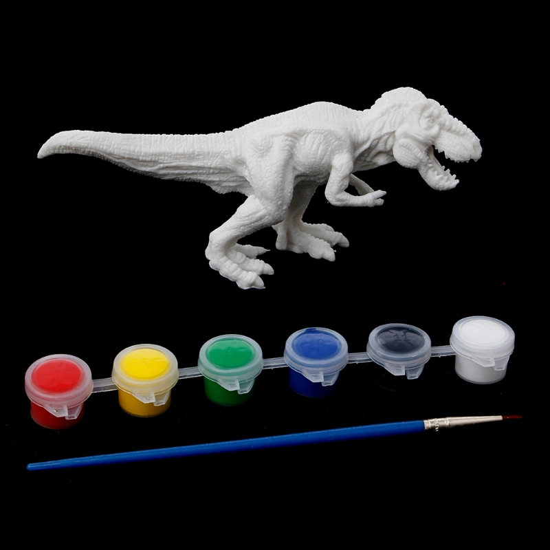 DIY Coloring Painting Animal Dinosaur Model Drawing Graffiti Kids Children Toys-m15