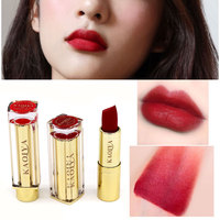 12PCS/lot Waterproof Women Matte Lipstick Set Cosmetiquera Long Lasting Batom Mate No Atacado Maquillage Femme