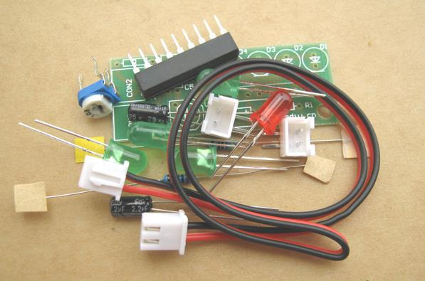 Free Shipping!  10pc Electronic Production Suite / Audio Level Indicator Diy Kits