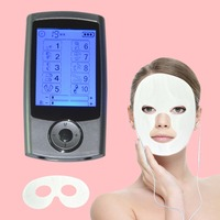 Physiotherapy TENS EMS Body Massager Pain Fatigue Smoothing Relax 1Pc TENS Therapy Beauty Facial Mask Pads