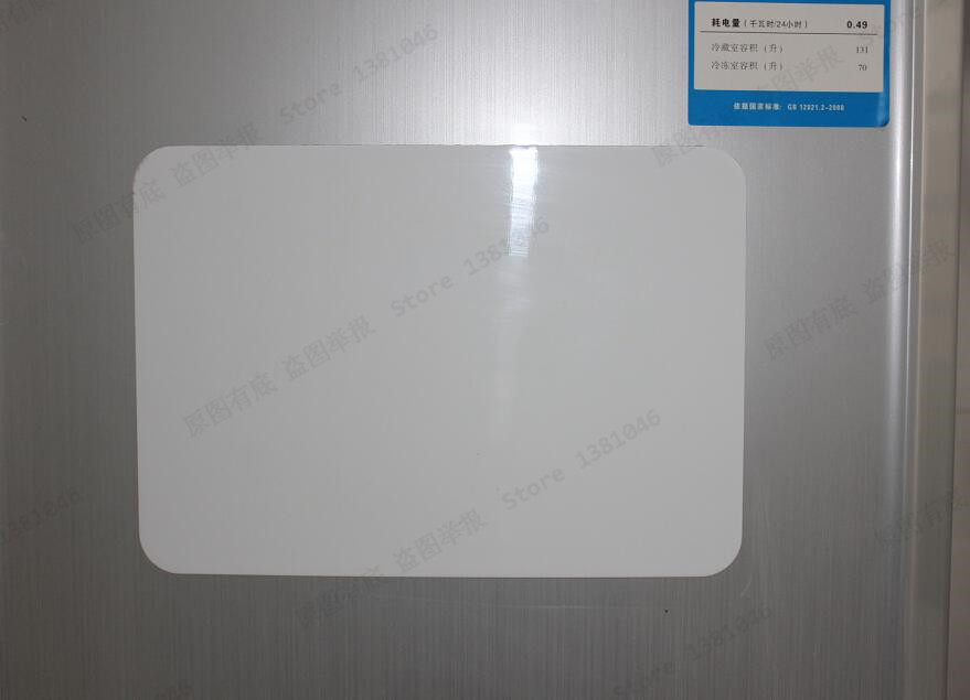 Size A4 0.3mm Flexible Fridge Magnetic Sheet Whiteboard Memo Reminder Board  1/2/3pcs You Pick