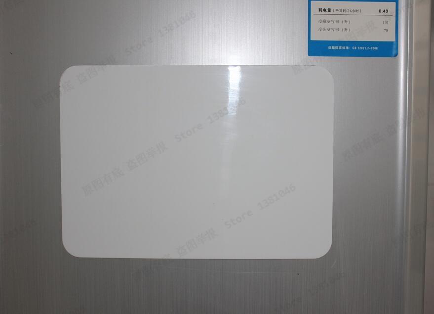 Size A4 0.3mm Flexible Fridge Magnetic Sheet Whiteboard Memo Reminder Board  1/2/3pcs You Pick