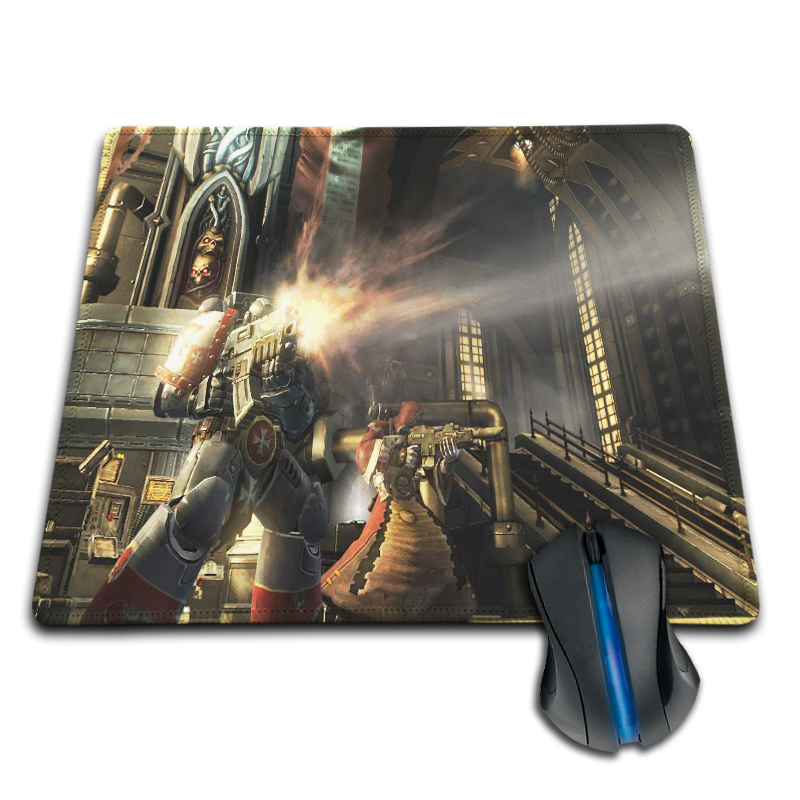 Best Sellers Customized Mouse Pad Warhammer 40K Space Marines Warfare Cool Computer Notebook Durable Anti-Slip Mice Mat Pad
