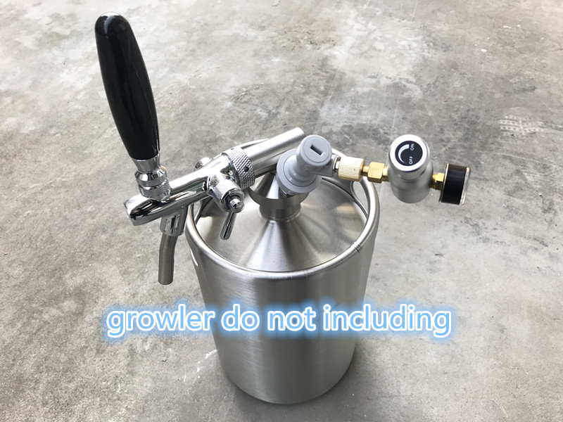 2L 3.6L 5L mini growler spears Beer Spear with Tap Faucet with CO2 ...