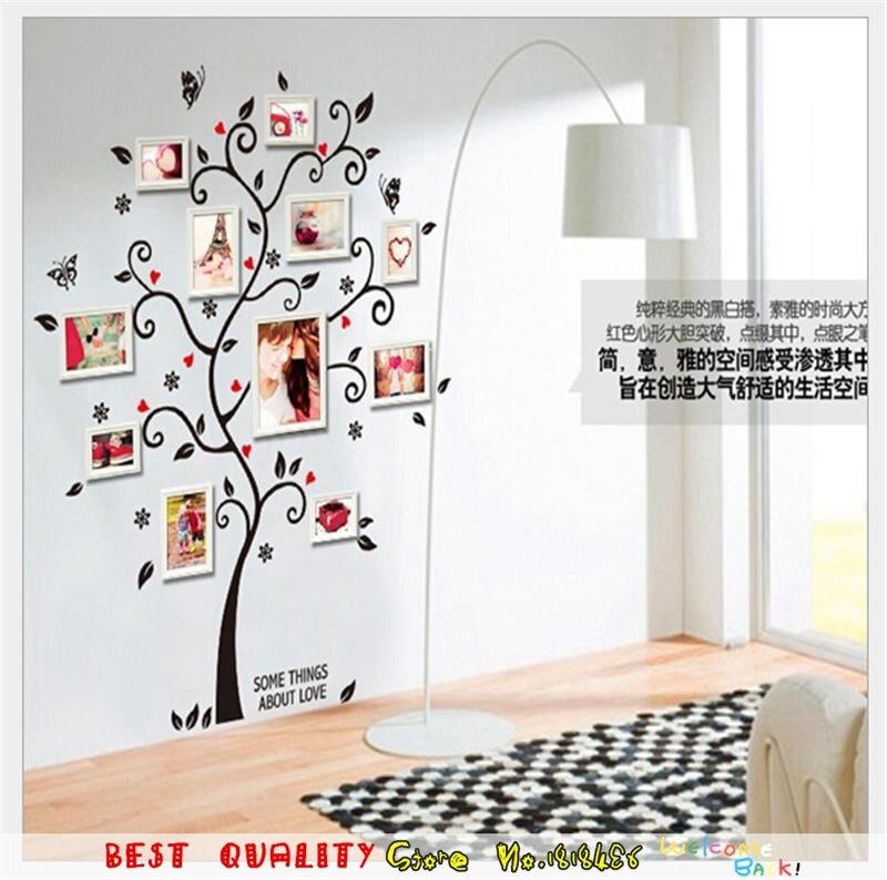 Home Decoration Family Tree Photos Album Frame Wall ...