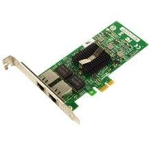 82576EB чипсет с двойным портом PCI-E X4 гигабитный серверный адаптер NIC карта 1 Гбит/с E1G42ET